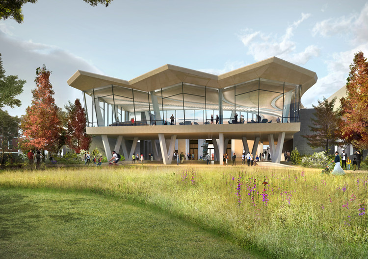 Studio Gang Breaks Ground on New Arkansas Arts Center, Courtesy of Studio Gang and SCAPE