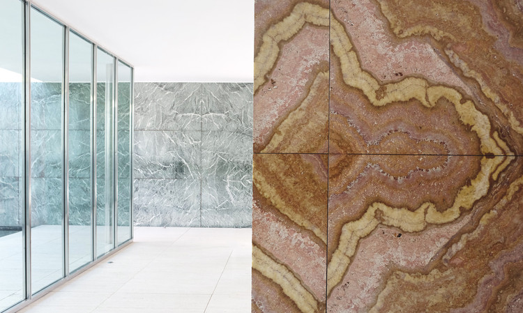 Barcelona Pavilion / Mies van der Rohe. Image © Gili Merin