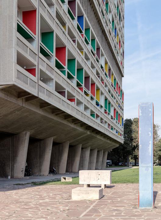 Unite d' Habitation / Le Corbusier. Image © Steve de Vriendt