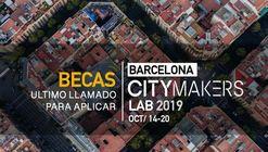 Becas CityMakers - ArchDaily para participar en el Barcelona CityMakers Lab 2019