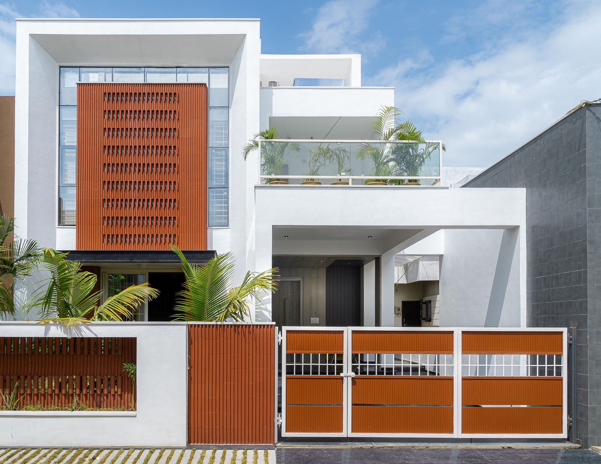 Clay Screen House Manoj Patel Design Studio Archdaily