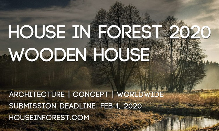 Open Call: House In Forest 2020 - Wooden House, HIF2020-Poster-Original