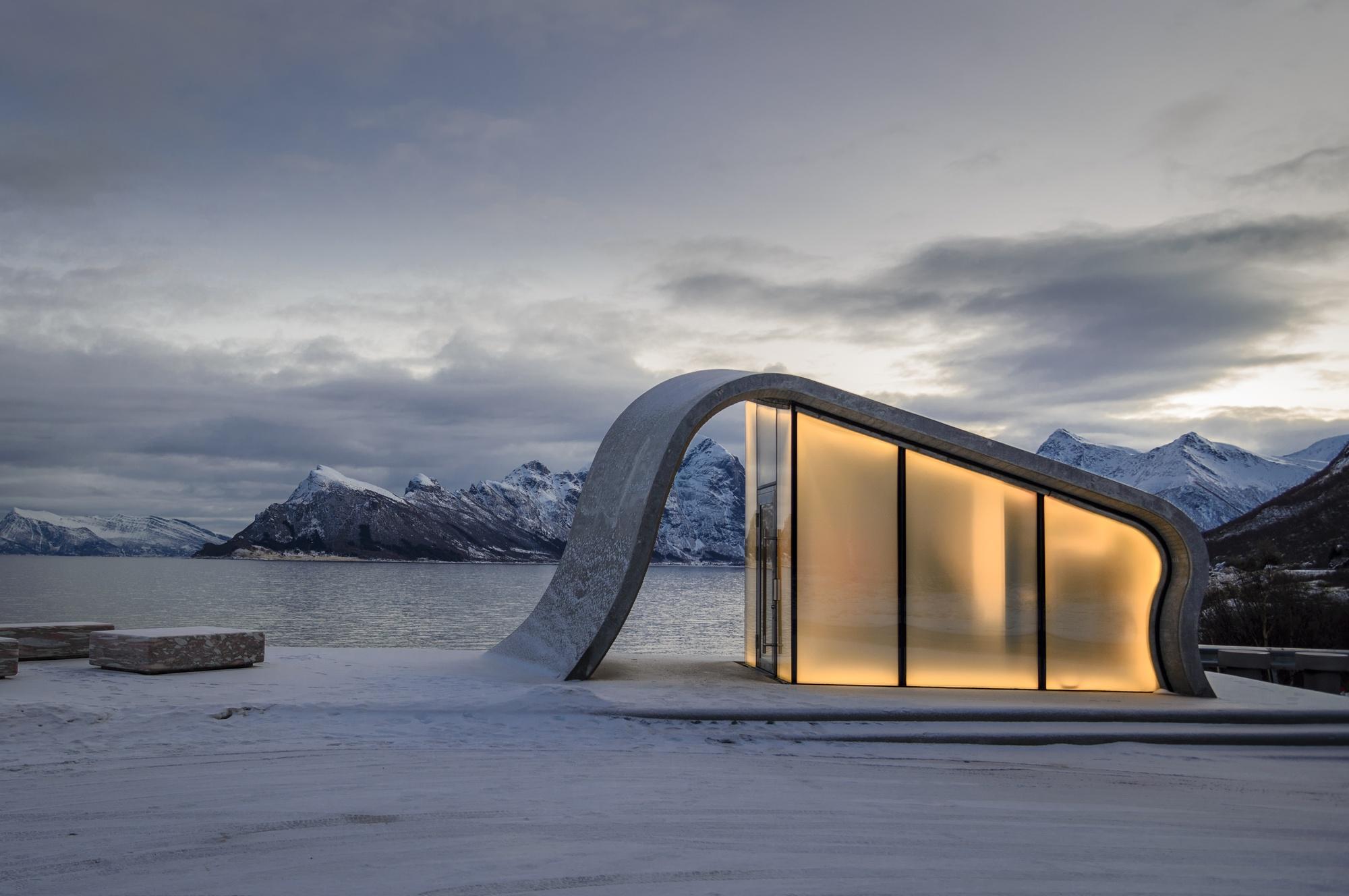 Uredd Rest Area / Haugen/Zohar Arkitekter + Landskapsfabrikken