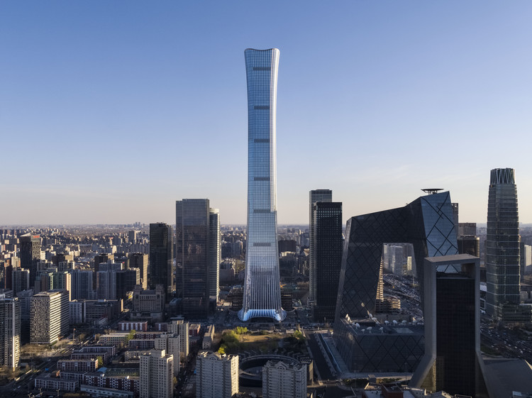 KPF projeta a torre CITIC, o edifício mais alto de Pequim, © KPF