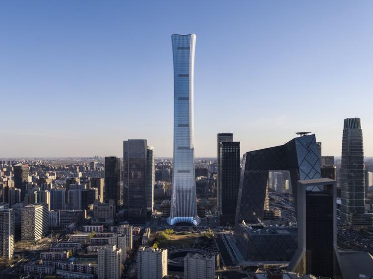 KPF Designs CITIC Tower, Beijing's Tallest Building, © KPF