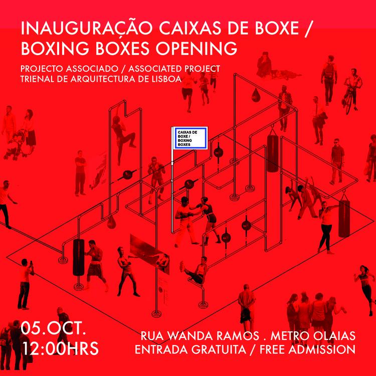 Inauguração Caixas de Boxe / Boxing Boxes Opening