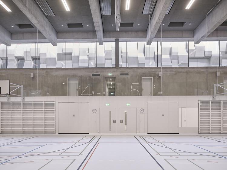 Wettingen Canton School Sports Hall / :mlzd, © Ariel Huber