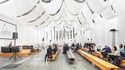 Espacio efímero BBConstrumat 2019 / Josep Ferrando Architecture