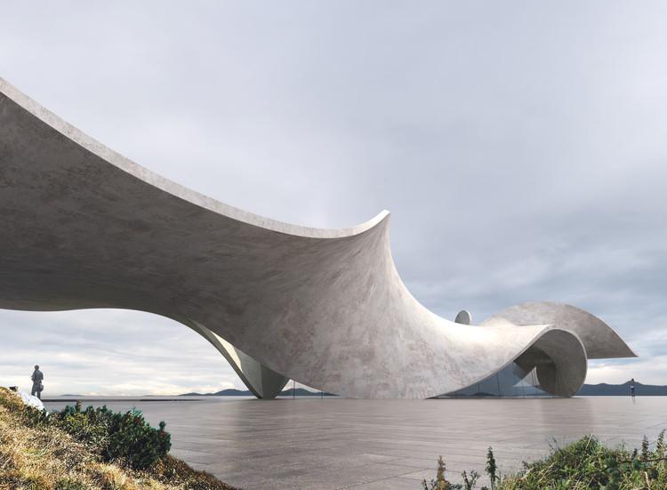 Antony Gibbon crea serie de proyectos escultóricos con concreto, Twine: Series One. Image Courtesy of Antony Gibbon Designs