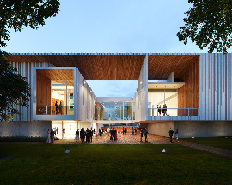 Brooks + Scarpa and KMF Design New Expansion to Florida's Mennello Museum, Courtesy of Brooks + Scarpa