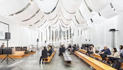 Barcelona Building Construmat  Ephemeral Space / Josep Ferrando Architecture