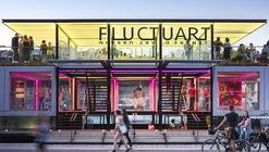 Fluctuart Art Gallery / Seine Design