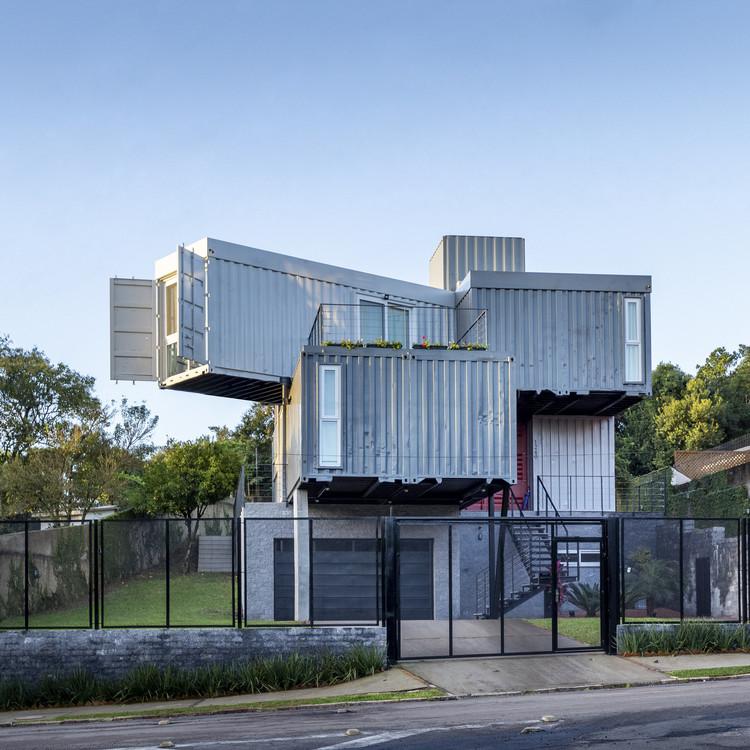 Casa Conteiner RD / KS arquitetos, © Marcelo Donadussi