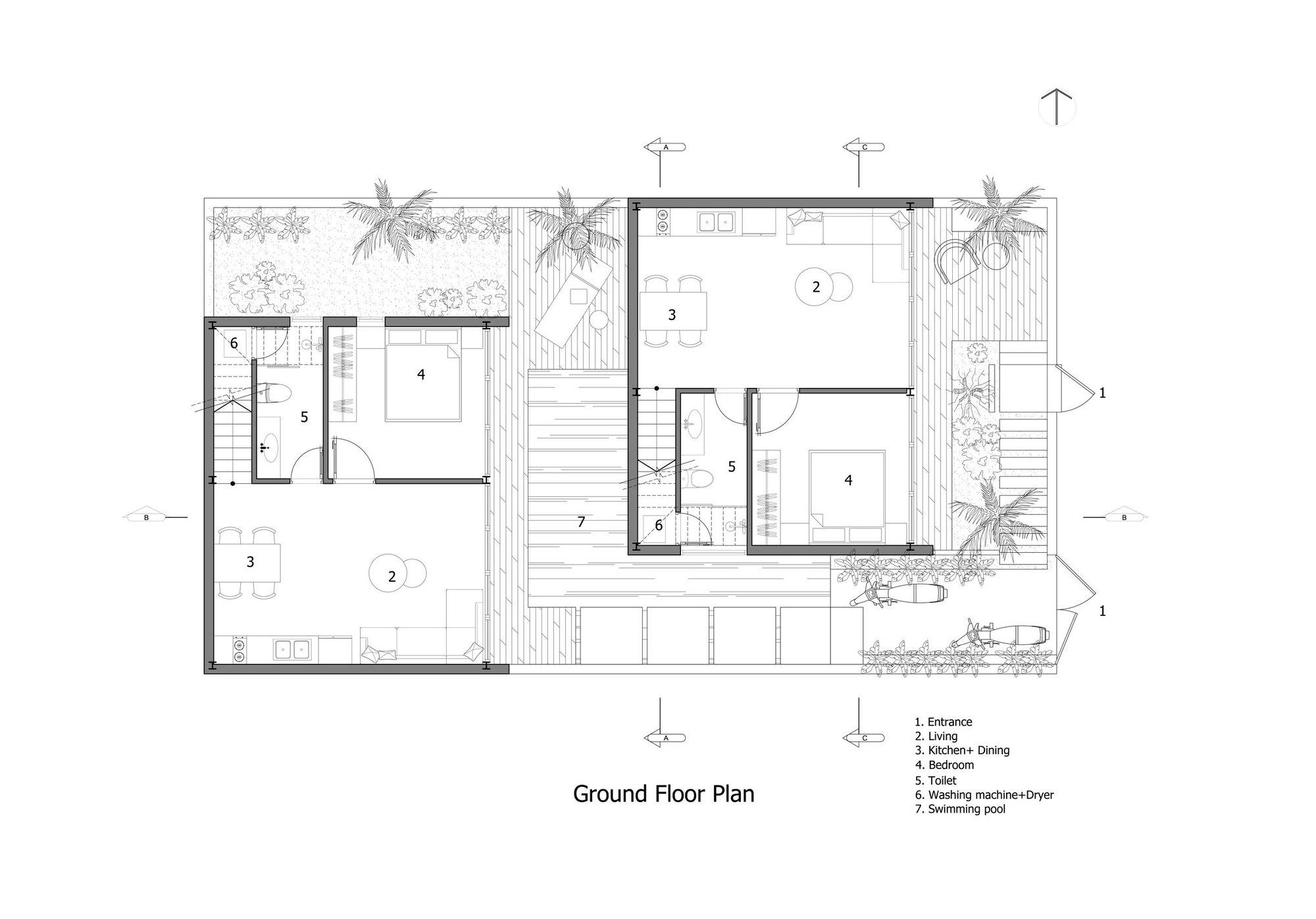 Gallery Of Maison Mansardee House 85 Design 36