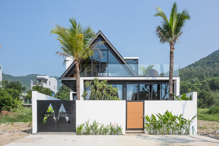 Nhà Maison Mansardee / 85 Thiết kế, © To Hữu Dũng