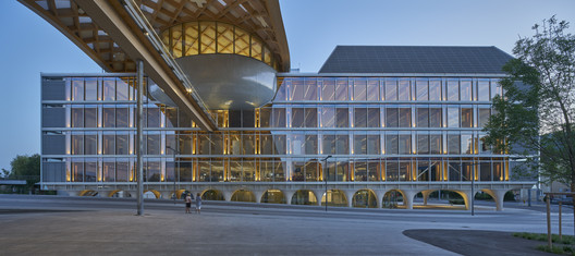 Swatch and Omega Campus / Shigeru Ban Architects