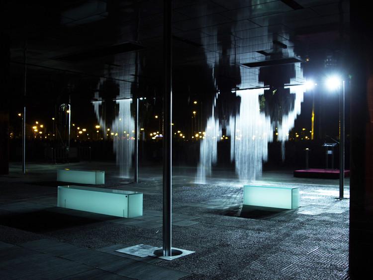 2008, CRA Digital Water Pavilion . Image © Ramak Fazel