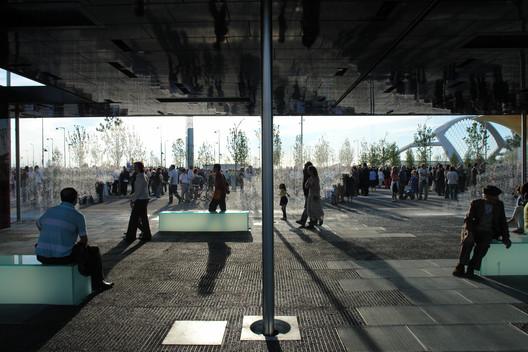 2008, CRA Digital Water Pavilion . Image © Walter Nicolino