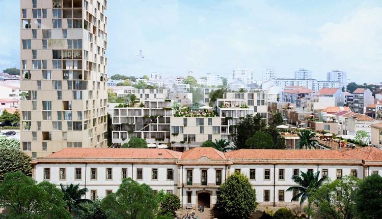 MASS lab vence concurso para masterplan e conjunto habitacional no Porto, © MASS lab