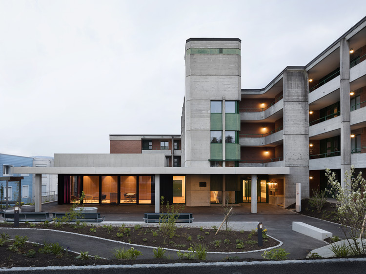 Retirement Home Extension / Singer Baenziger Architekten, © Christian Senti