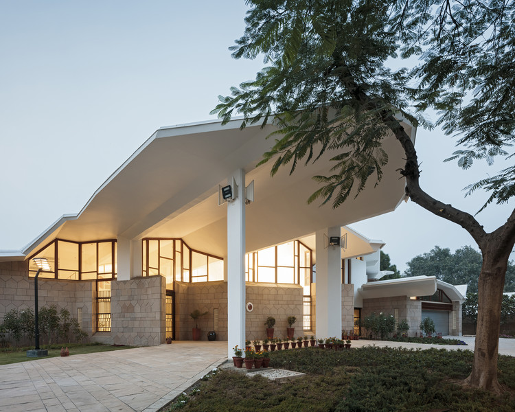 Embassy of Finland in New Delhi Renovation / ALA Architects, © Tuomas Uusheimo