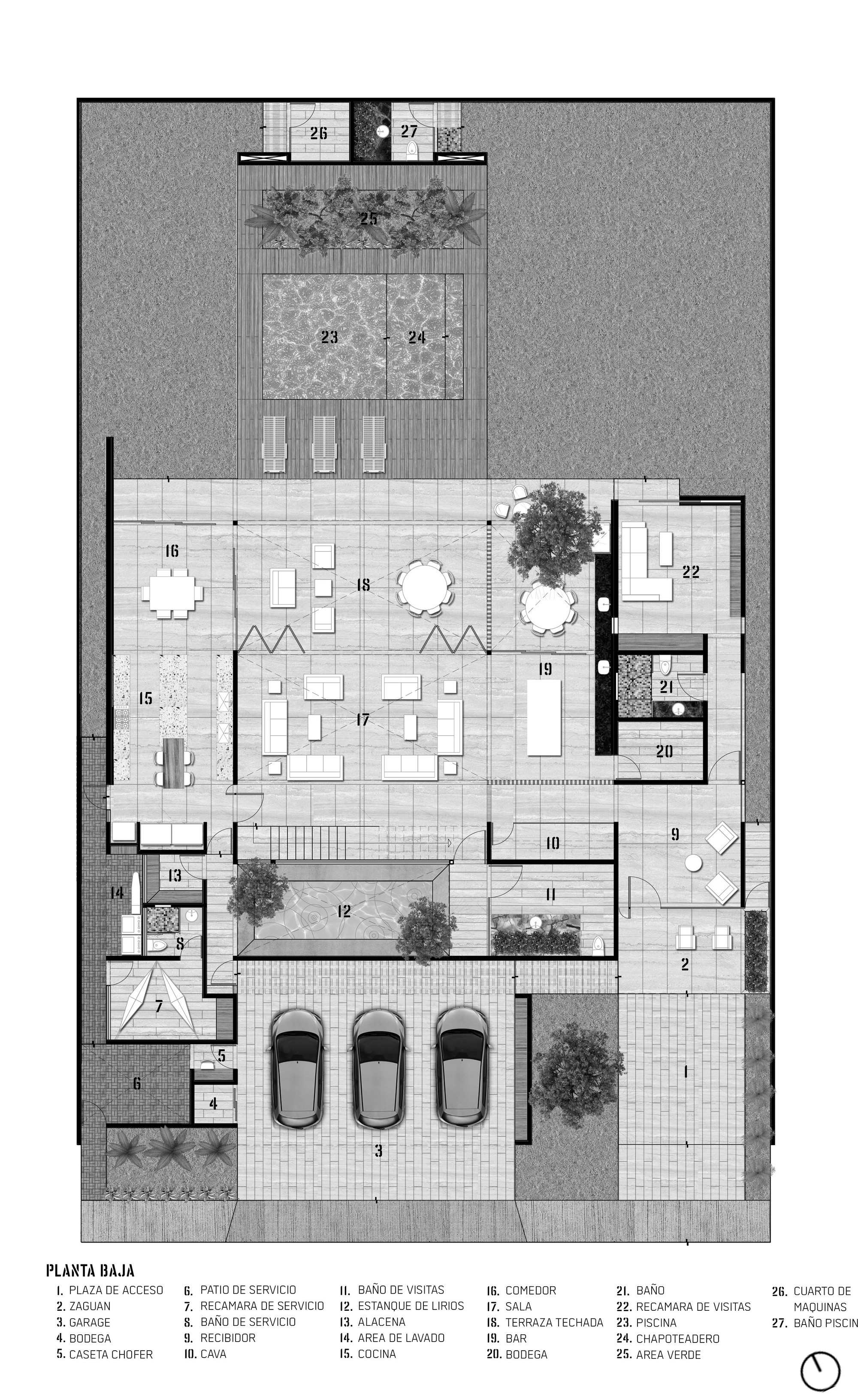 Gallery Of Pedregal House R79 12