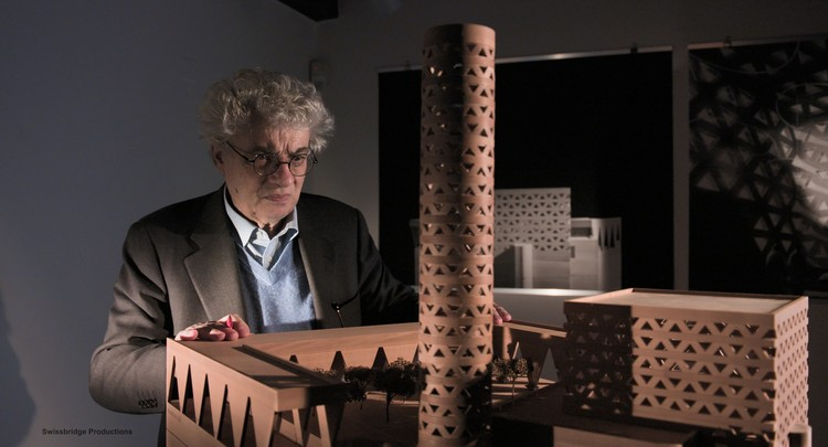 """Mario Botta: The Space Beyond"" to be Revealed in NY in mid-October , © Swissbridge Productions"