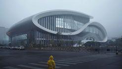 Zhejiang HuangLong Aquatics Center  / CSADI