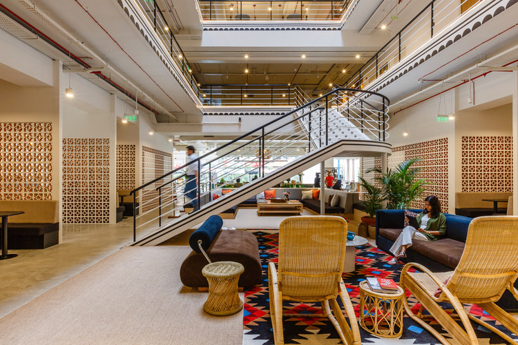 Take a Look at the First WeWork Headquarters Coming to Bengaluru, India, Cortesía de WeWork