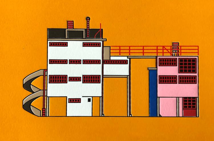 Construcciones Modernas S.A: una serie que ilustra los edificios del México Moderno, © Construcciones Modernas S.A.