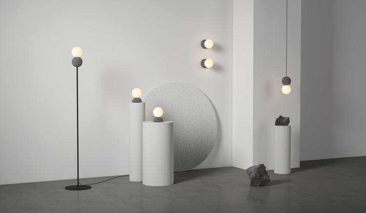 David Pompa Studio presenta colección de luminarias a base de piedra volcánica, Cortesía de David Pompa Studio