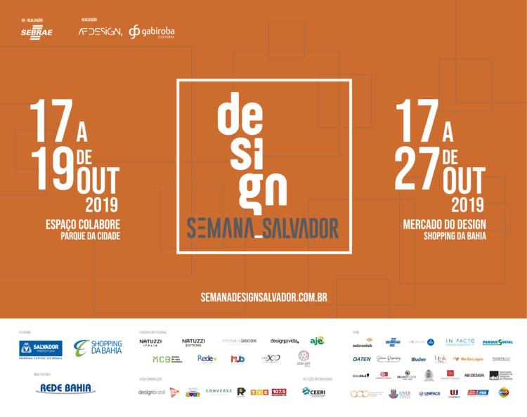 Semana Design Salvador - 2019, SEMANA DESIGN SALVADOR - 2019