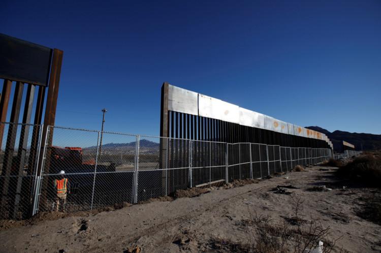 Margarida Quintã e Luís Ribeiro da Silva vencem a 15ª edição do Prêmio Fernando Távora, O muro atualmente em construção na fronteira dos EUA com o México. Foto: José Luis Gonzalez / Reuters