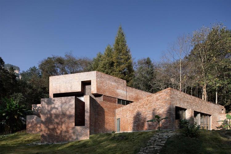 Star Camp Service Center / Art + Zen Architects/ SEU-ARCH, close view. Image © Qiang Xia