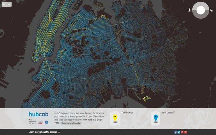 HubCab. Imagen © MIT Senseable City Lab