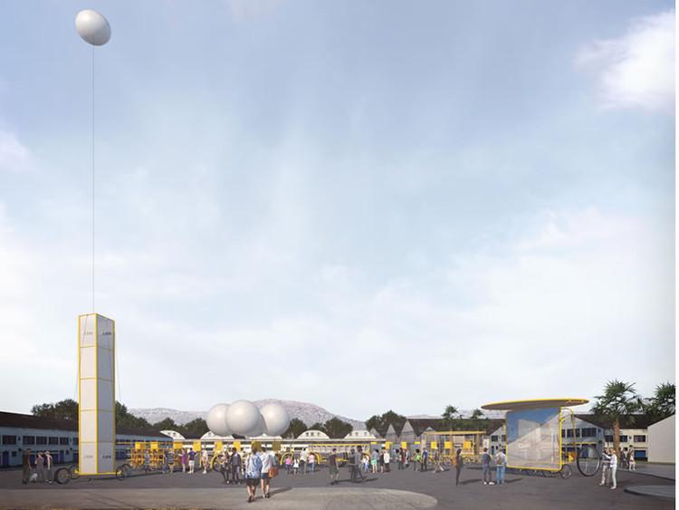 Feria Libre de Arquitectura en el Barrio Persa