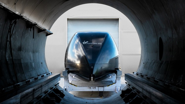 Transit Futures: New Innovations Moving Transport Forward, Courtesy of Virgin Hyperloop One