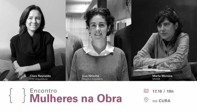 """{CURA} reúne arquitetas para o encontro """"Mulheres na Obra"""" , - Encontro traz Clara Reynaldo, da CR2 Arquitetura; Lua Nitsche, do Nitsche Arquitetos e Marta Moreira, do MMBB; objetivo é estimular a reflexão sobre o protagonismo da mulher na arquitetura."""