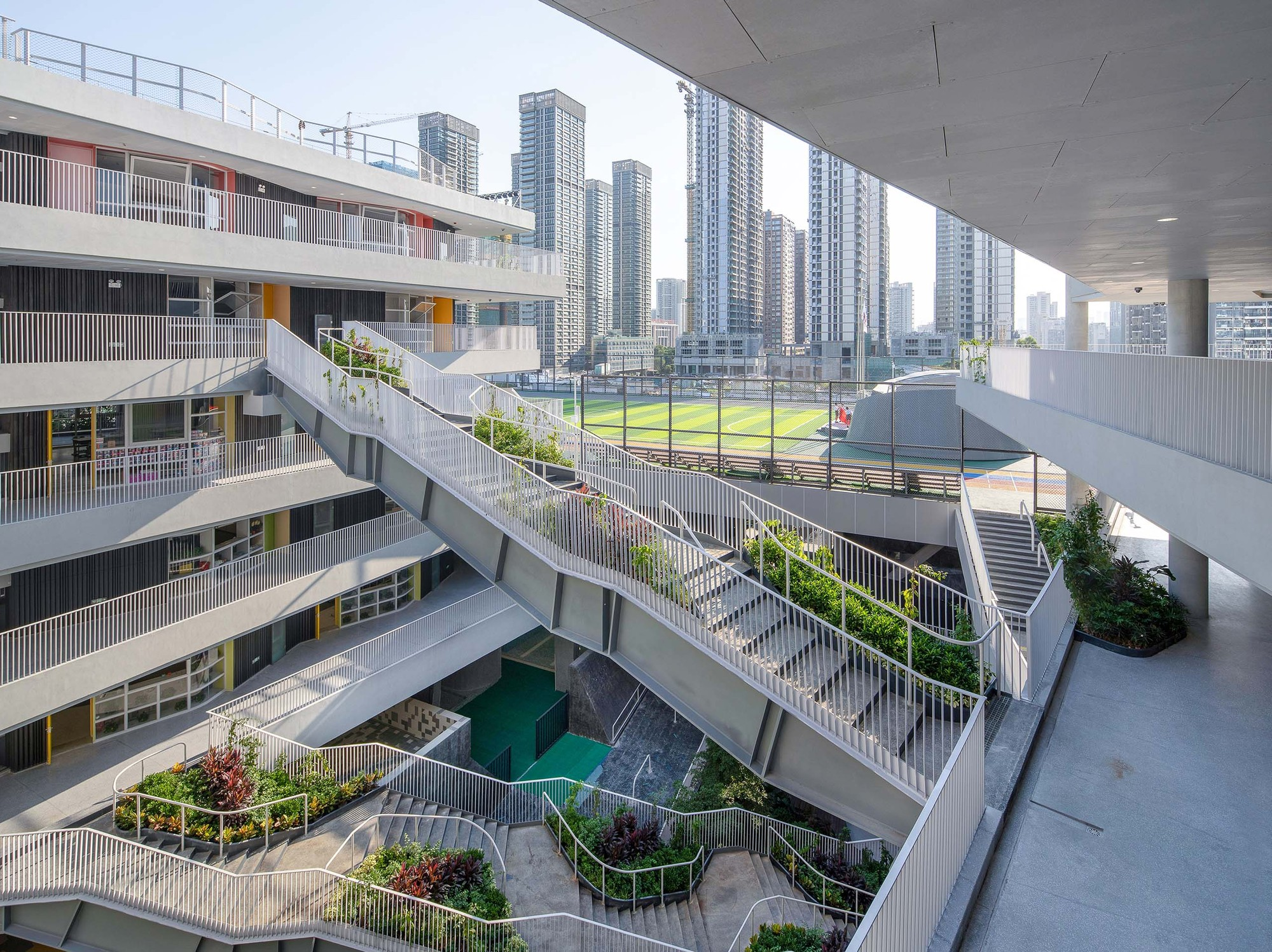 Gallery Of Hongling Experimental Primary School O Office Architects 3
