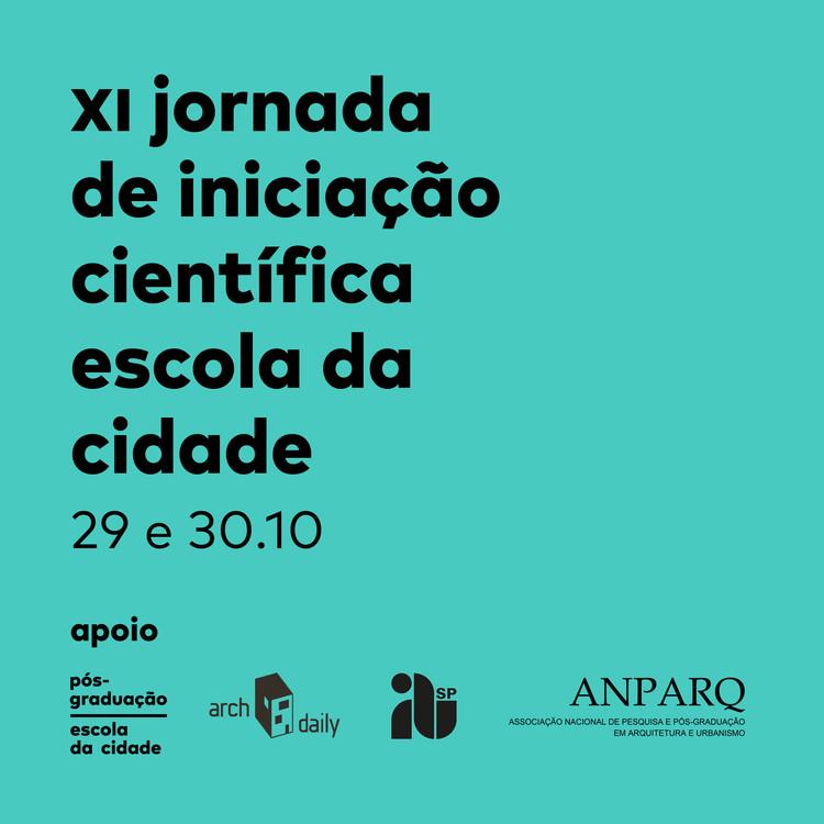 Escola da Cidade promove XI Jornada de Iniciação Científica