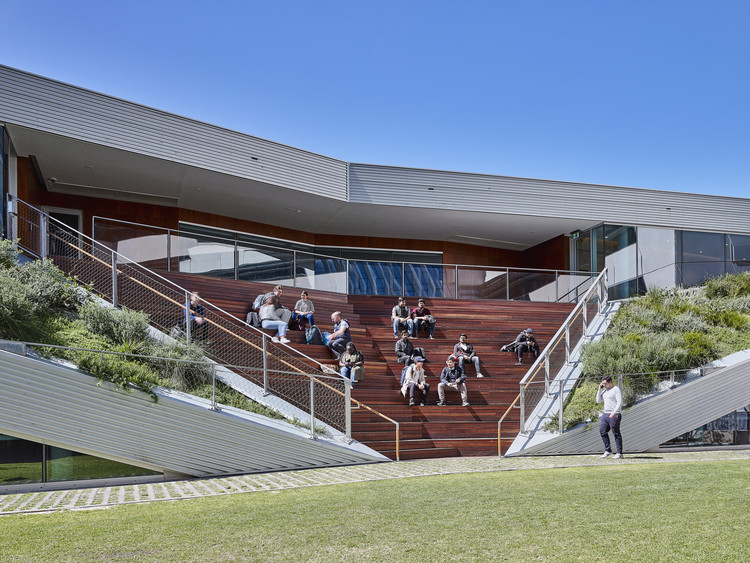University of South Australia's Pridham Hall / Snøhetta + JPE Design Studio + Jam Factory, © Mark Syke