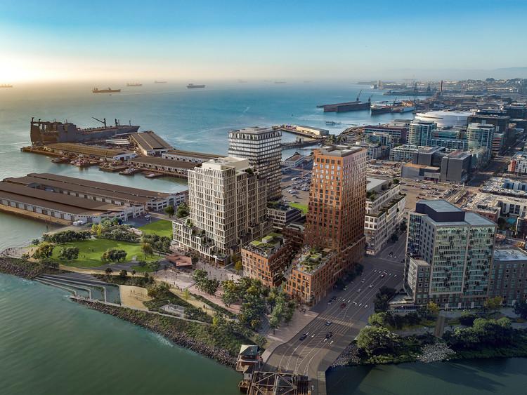 MVRDV projeta edifício de uso misto de 23 pavimentos em San Francisco, Cortesia de MVRDV, Binyan_Studios