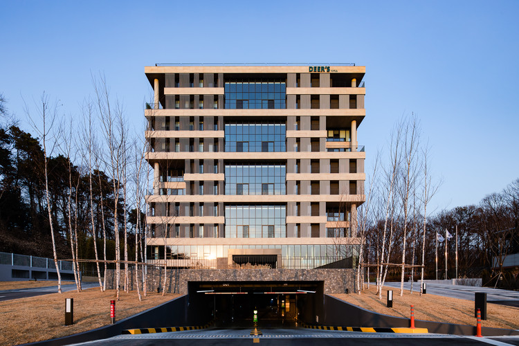 DEER'S Headquarters  / HnSa architects & designers, © KIM Yongsoon
