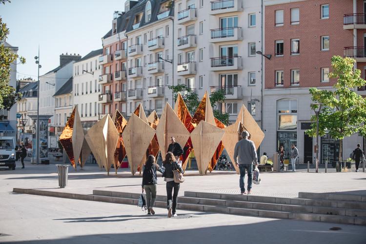 La Forêt Monumentale: Un festival de arquitectura sustentable, © lan Aubry - Métropole Rouen Normandie
