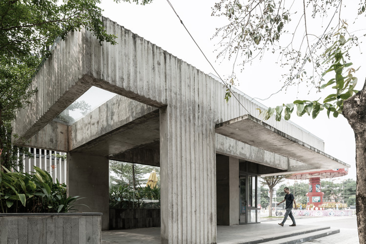 Estação de ônibus KNG / A+D Architectural Design & Constructions, © Quang Dam