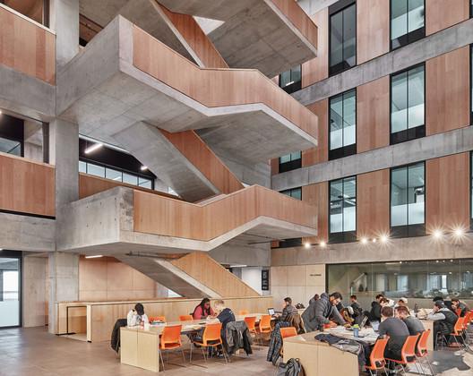 Myhal Center for Engineering, Innovation and Entrepreneurship / Montgomery Sisam Architects + Feilden Clegg Bradley Studios