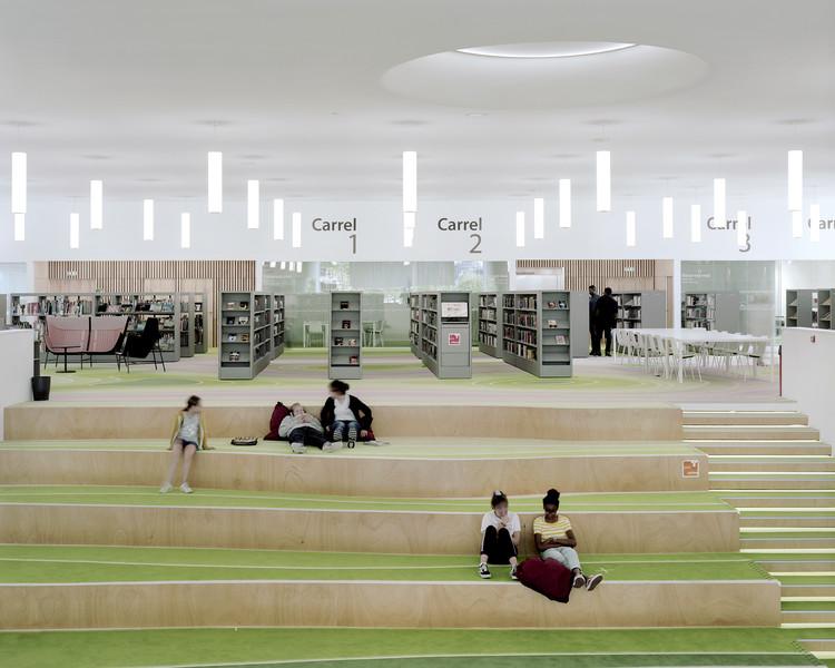 LA BIB of Dunkerque Library / D'HOUNDT+BAJART Architects & Associates, © Maxime Delvaux