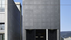 Wood Pellet Storage Facility / Paul Bretz Architectes