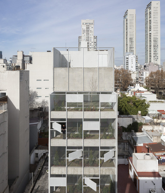 Edificio Bonpland / Adamo Faiden. Image © Javier Agustín Rojas