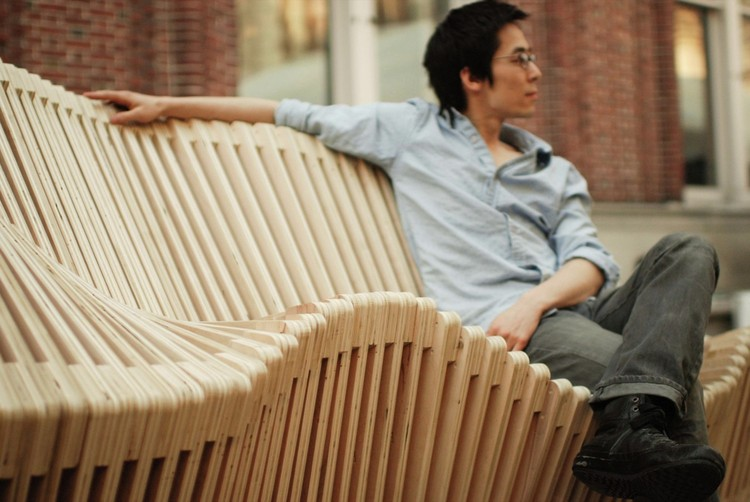 10 Innovative Outdoor Benches Shaping Public Spaces, Polymorphic / Columbia University GSAPP. Image © Jennifer Chang